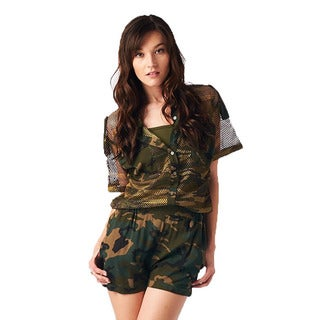 TOV Women's Military Jumpsuit