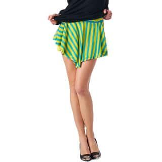 TOV Women's Duo Lime Skort|https://ak1.ostkcdn.com/images/products/10398958/P17501357.jpg?impolicy=medium
