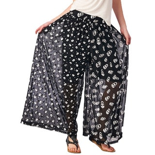 TOV Women's Skull Love Pants