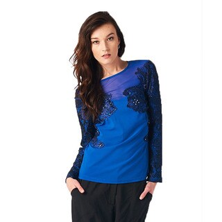 TOV Women's Be Royal Blue Top