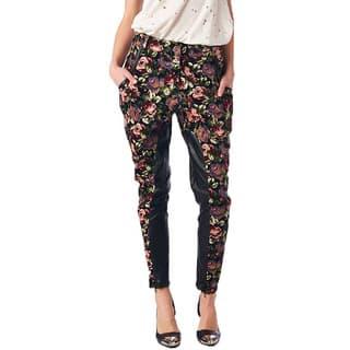 TOV Women's Floral Dress Pants|https://ak1.ostkcdn.com/images/products/10398969/P17501370.jpg?impolicy=medium