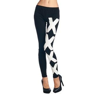 TOV Women's Black XXXX Leggings