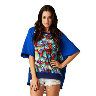 TOV Women's Eclectic Print Top
