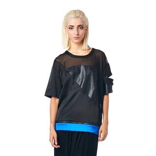 TOV Women's Blue Swag Top