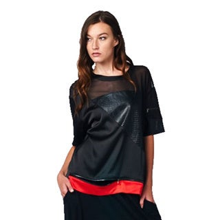 TOV Women's Red Swag Top