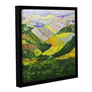 ArtWall Allan Friedlander 'Forest And Harvest' Gallery-wrapped Floater-framed Canvas
