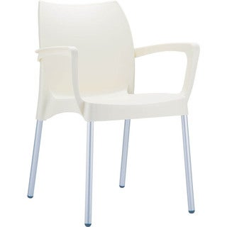 Dolce Indoor/ Outdoor Stacking Arm Chair (Set of 4)