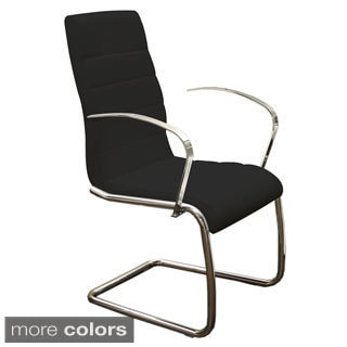 Avenue Arm Dining Chair Eco-leather Arm Dining Chair