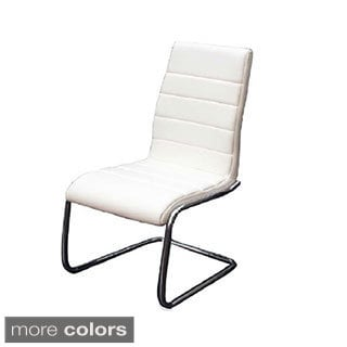Avenue Collection Eco-leather Dining Chair