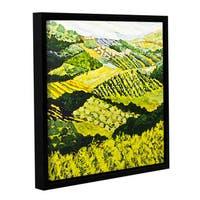 ArtWall Allan Friedlander 'Changing World' Gallery-wrapped Floater-framed Canvas