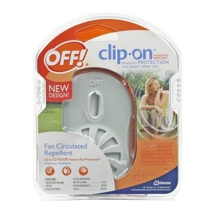 OFF! Clip-On Mosquito Repellent - White