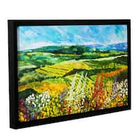 ArtWall Allan Friedlander 'Change Is In The Air' Gallery-wrapped Floater-framed Canvas - Multi
