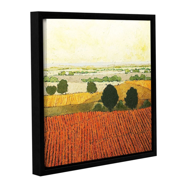 ArtWall Allan Friedlander 'After Harvest' Gallery-wrapped Floater-framed Canvas