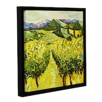 ArtWall Allan Friedlander 'A Good Year' Gallery-wrapped Floater-framed Canvas