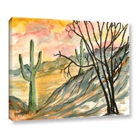 ArtWall Derek Mccrea 'Arizona Evening' Gallery-wrapped Canvas