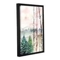 ArtWall Derek Mccrea 'Birch Tree' Gallery-wrapped Floater-framed Canvas