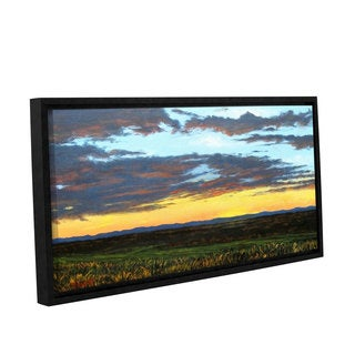 ArtWall Gene Foust 'American Dream' Gallery-wrapped Floater-framed Canvas