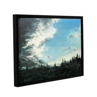 ArtWall Gene Foust 'Gloom' Gallery-wrapped Floater-framed Canvas