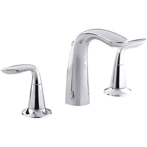 Kohler K-5317-4 Refinia Widespread Bathroom Sink Faucet with Lever Handles