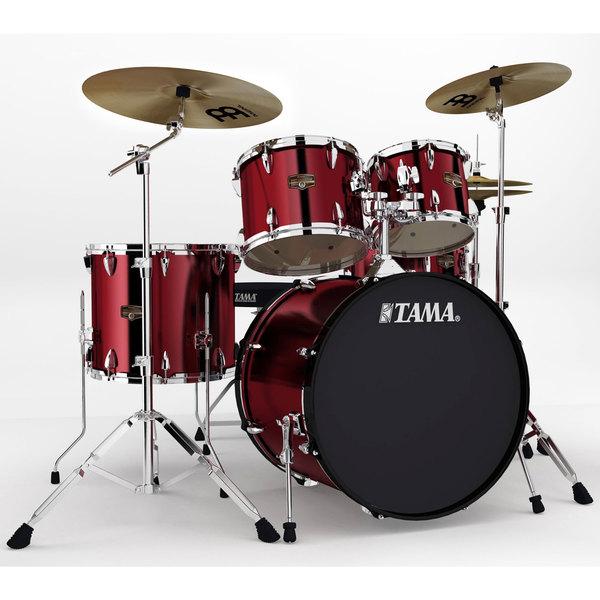 Tama Imperialstar 5-piece Vintage Red Complete Drum Kit