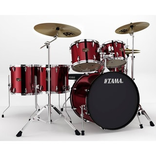 Tama Imperialstar 6-piece Vintage Red Complete Drum Kit