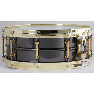 Ludwig LB416BT Black Beauty 'Brass on Brass' Snare Drum