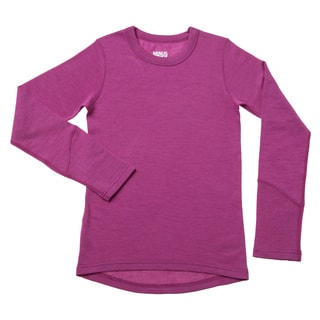 Minus33 230 g/m2 Midweight Girl's Crew Top