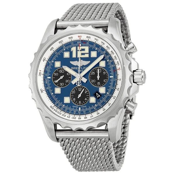 Breitling Men's A2336035-C833 'Professional Chronospace' Automatic Chronograph Stainless Steel Watch. Opens flyout.