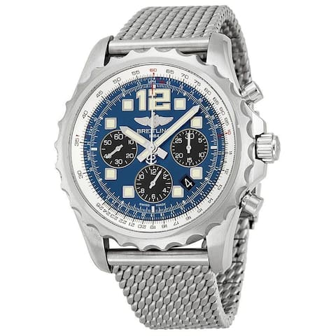 Breitling Men's A2336035-C833 'Professional Chronospace' Automatic Chronograph Stainless Steel Watch