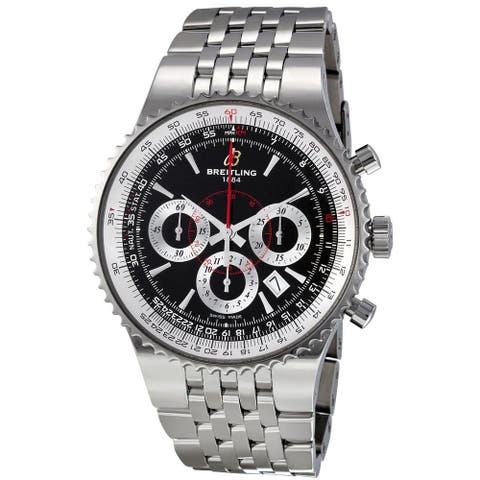 Breitling Men's A2335121-BA93 'Montbrillant' Chronograph Automatic Stainless Steel Watch