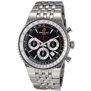 Link to Breitling Men's A2335121-BA93 'Montbrillant' Chronograph Automatic Stainless Steel Watch Similar Items in Men's Watches