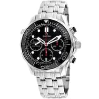 Omega Men's O21230445001001 'Seamaster' Automatic Stainless Steel Watch