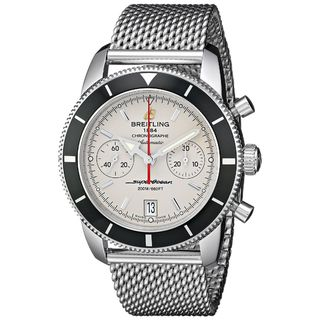 Link to Breitling Men's A2337024-G753 'Superocean Heritage' Automatic Chronograph Silver Stainless steel Wat Similar Items in Men's Watches