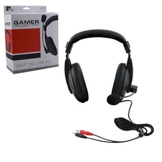KMD Black 8.4-feet Wired Professional Gaming Headset With Microphone