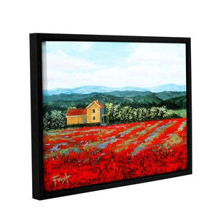 ArtWall Gene Foust 'Paradise' Gallery-wrapped Floater-framed Canvas