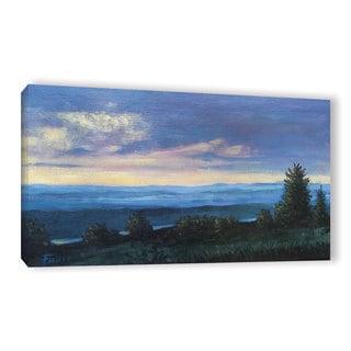 ArtWall Gene Foust 'Hillside' 3 Piece Gallery-wrapped Canvas Set