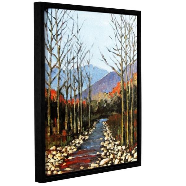ArtWall Gene Foust 'Autumn Rising' Gallery-wrapped Floater-framed Canvas - Multi