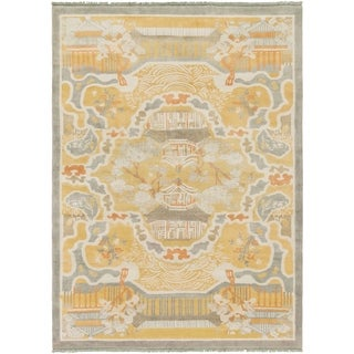 Hand-Knotted Arundel Wool Rug (8' x 11')