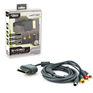 KMD 6-feet Gold-plated S-Video AV Cable For Microsoft Xbox 360 With Packaging