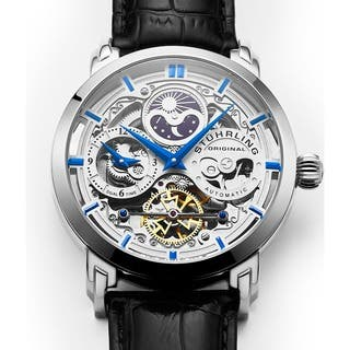 Stuhrling Original Men's Anatol Automatic Skeleton Leather Strap Watch|https://ak1.ostkcdn.com/images/products/10399811/P17502081.jpg?impolicy=medium