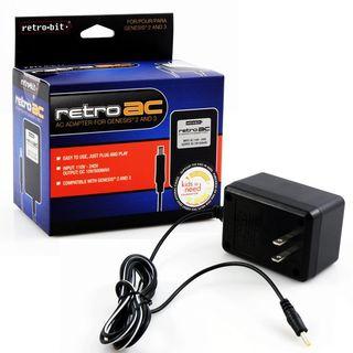 Retro-Bit 9V 850 mAh AC Power Adapter For Sega Genesis 2/ 3