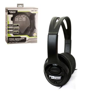 KMD Black Large Live Chat Headset With microphone For Microsoft Xbox 360