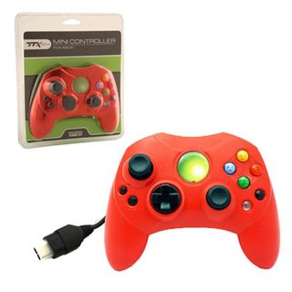 TTX Tech Red 6-feet Wired Controller For Microsoft Xbox System