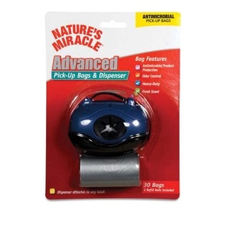 Nature's Miracle Oval Dispenser with Pick-up Bags
