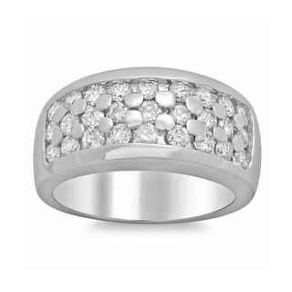 Artistry Collections 14k White Gold 1 1/10ct TDW Diamond Ring (E-F, SI1-SI2)