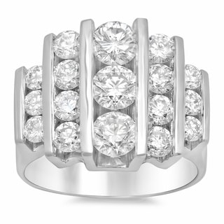 Artistry Collections 14k White Gold 2 3/4ct TDW Diamond Ring (E-F, VS1-VS2)
