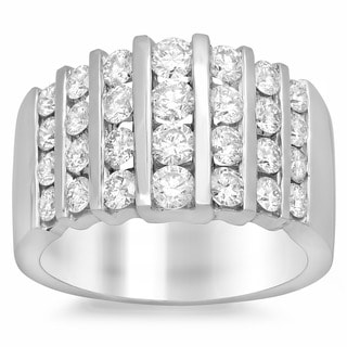 Artistry Collections 14k White Gold 1 1/2ct TDW Diamond Ring (E-F, VS1-VS2)