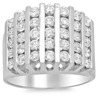 Artistry Collections 14k White Gold 1 4/5ct TDW Diamond Ring (E-F, VS1-VS2)