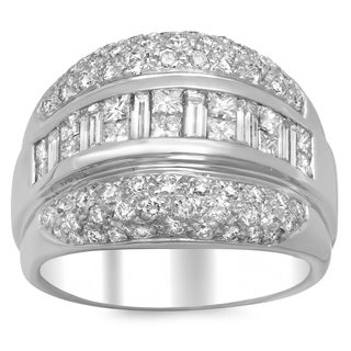14k White Gold 2 1/3ct TDW Diamond Ring (E-F, SI1-SI2)