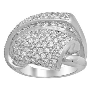 Artistry Collections 14k White Gold 2ct TDW Diamond Ring (E-F, SI1-SI2)